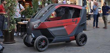 """הרכב החשמלי הקומפקטי של סיטי-טרנספורמר / צילום: יח""""צ"""