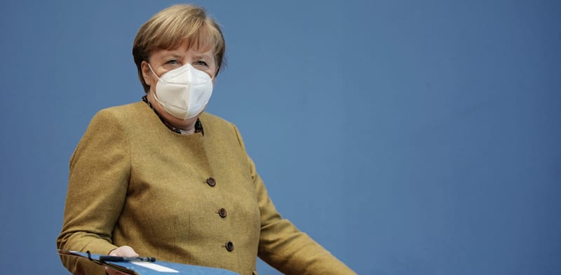 קנצלרית גרמניה אנגלה מרקל / צילום: Associated Press, Michael Kappeler