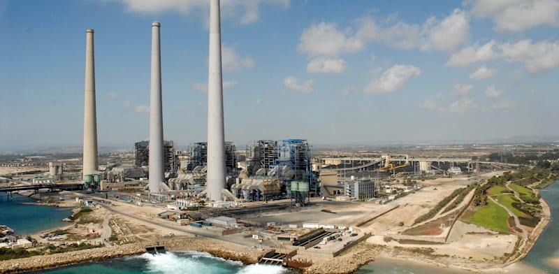 תחנת הכוח בחדרה / צילום: תמר מצפי