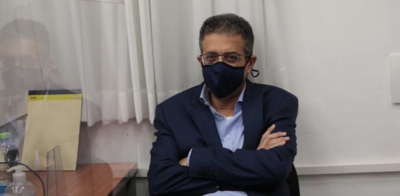"""אילן ישועה, מנכ""""ל וואלה לשעבר, בבית המשפט הבוקר / צילום: יוסי זמיר"""