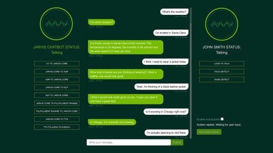 Jarvis Interactive Conversational AI - פלטפורמה לפיתוח שירותי הבנת שפה אינטראקטיביים / צילום: באדיבות NVIDIA