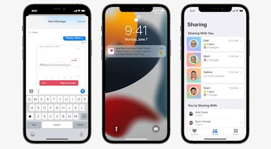 אפליקציות הבריאות החדשות של אפל
