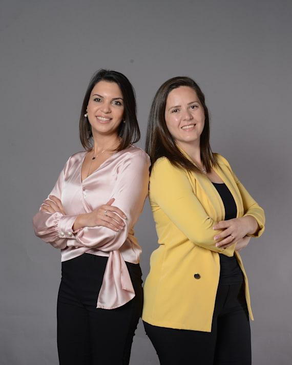 מרתה נסאר וסוהיר ניג'ם / צילום: איל יצהר