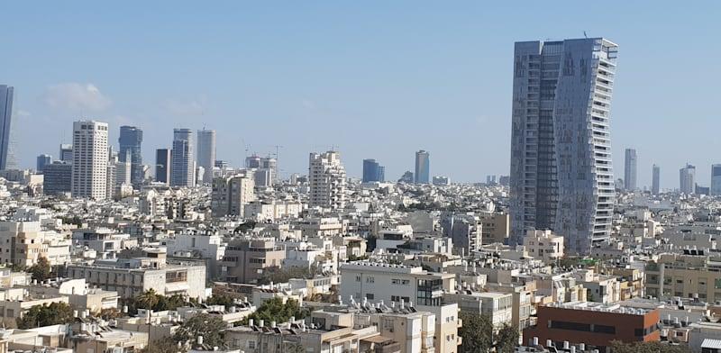 מגדל דן בתל אביב / צילום: גיא ליברמן