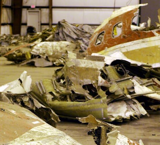 שרידי טיסה 990 של איג'יפט אייר / צילום: Reuters, REUTERS