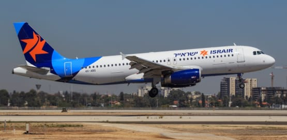 """מטוס ישראייר / צילום: יח""""צ מוני שפיר"""