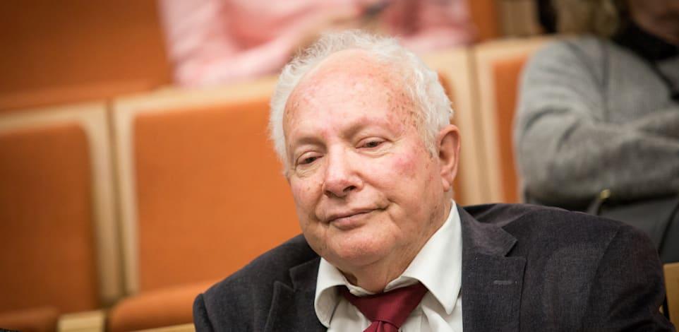 השופט בדימוס אורי גורן / צילום: שלומי יוסף
