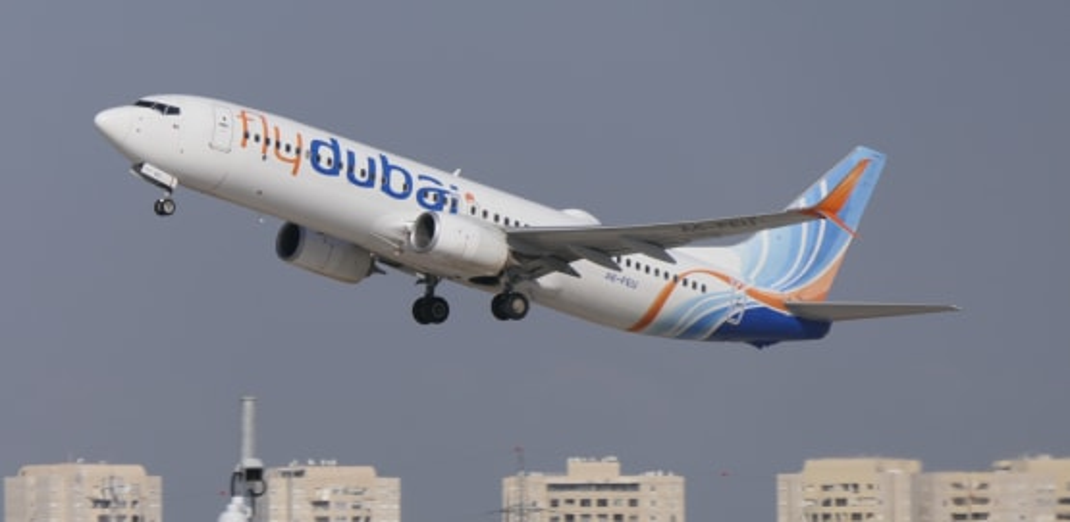 """מטוס של פליי דובאי. """"הממשלה נותנת שקט"""" / צילום: דני שדה"""