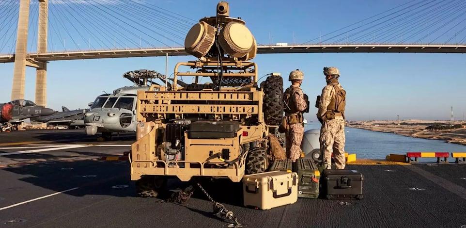 """מכ""""מ של חברת ראדא / צילום: צבא ארה""""ב"""