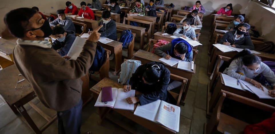 בתי הספר נפתחו בגוג'ראט שבהודו