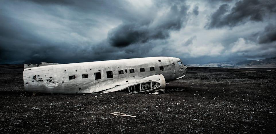 מטוס שהתרסק / צילום: Shutterstock, Irina Bg