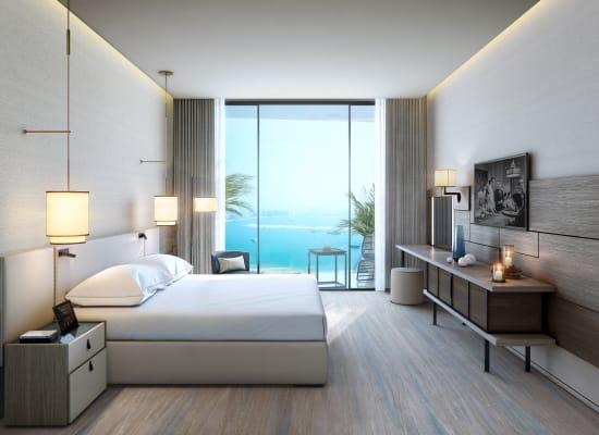 דירה בפרויקט Address Jumeirah Beach המשווק על ידי דובאי הום / צילום: אדרס יח''צ