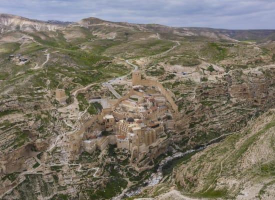 מנזר מרסבא במדבר יהודה / צילום: גל טוויג