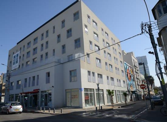 המבנה ברחוב פין 1 מבחוץ / צילום: איל יצהר