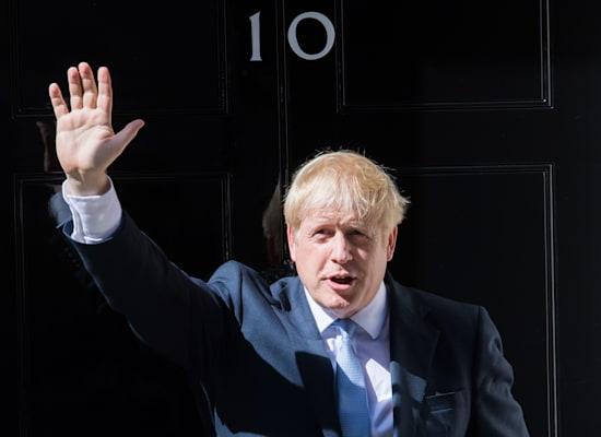 בוריס ג'ונסון, ראש ממשלת בריטניה, שהתמודד עם כמה חזיתות / צילום: Shutterstock