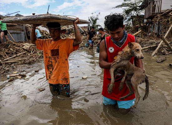 הצפות במנילה בפיליפינים / צילום: Basilio H. Sepe / Greenpeace