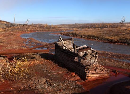 נהר הדלדיקן מיובש ברוסיה