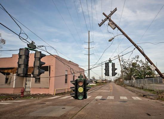 הנזק מהוריקן לורה בלואיזיאנה / צילום: Julie Dermansky / Greenpeace