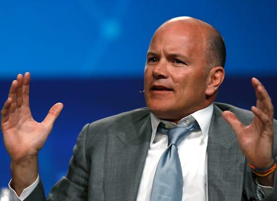 מייק נובוגרץ, בעלי גלקסי דיגיטל - חברת השקעות קריפטו אמריקאית / צילום: Reuters, Rick Wilking