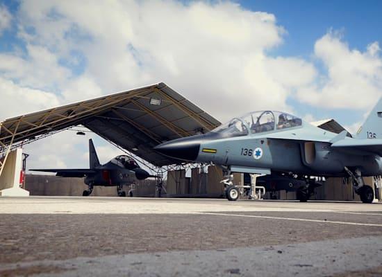 """מטוסי T-6 (""""עפרוני"""") / צילום: אלביט מערכות"""