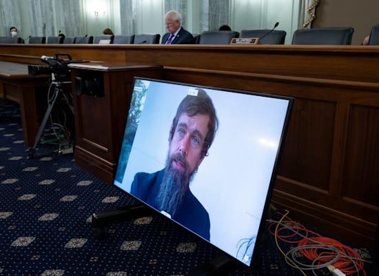 בשימוע לענקיות האינטרנט בקונגרס / צילום: Associated Press, Michael Reynolds