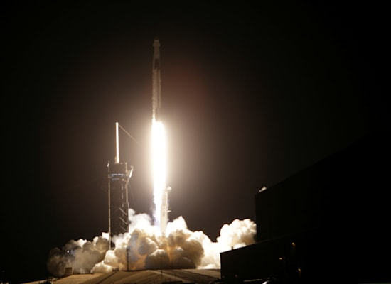 פאלקון 9 של SPACEX / צילום: Reuters, JOE SKIPPER