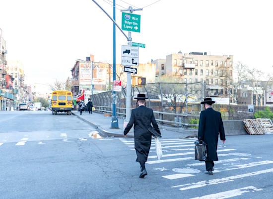 חסידים מקהילת סאטמר, בברוקלין / צילום: Shutterstock