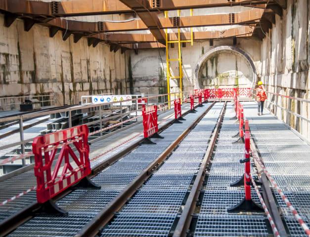 עבודות הרכבת הקלה. הדין הישראלי היה מתקדם / צילום: Shutterstock