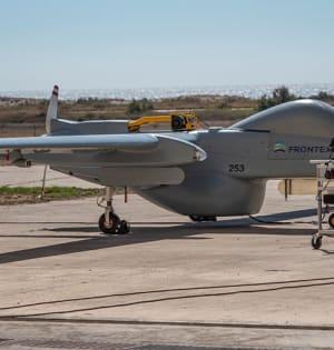 """מל""""ט הרון של התעשייה האווירית / צילום: אתר החברה"""