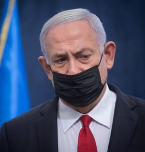 """ראש הממשלה בנימין נתניהו / צילום: יח""""צ פלאש 90"""