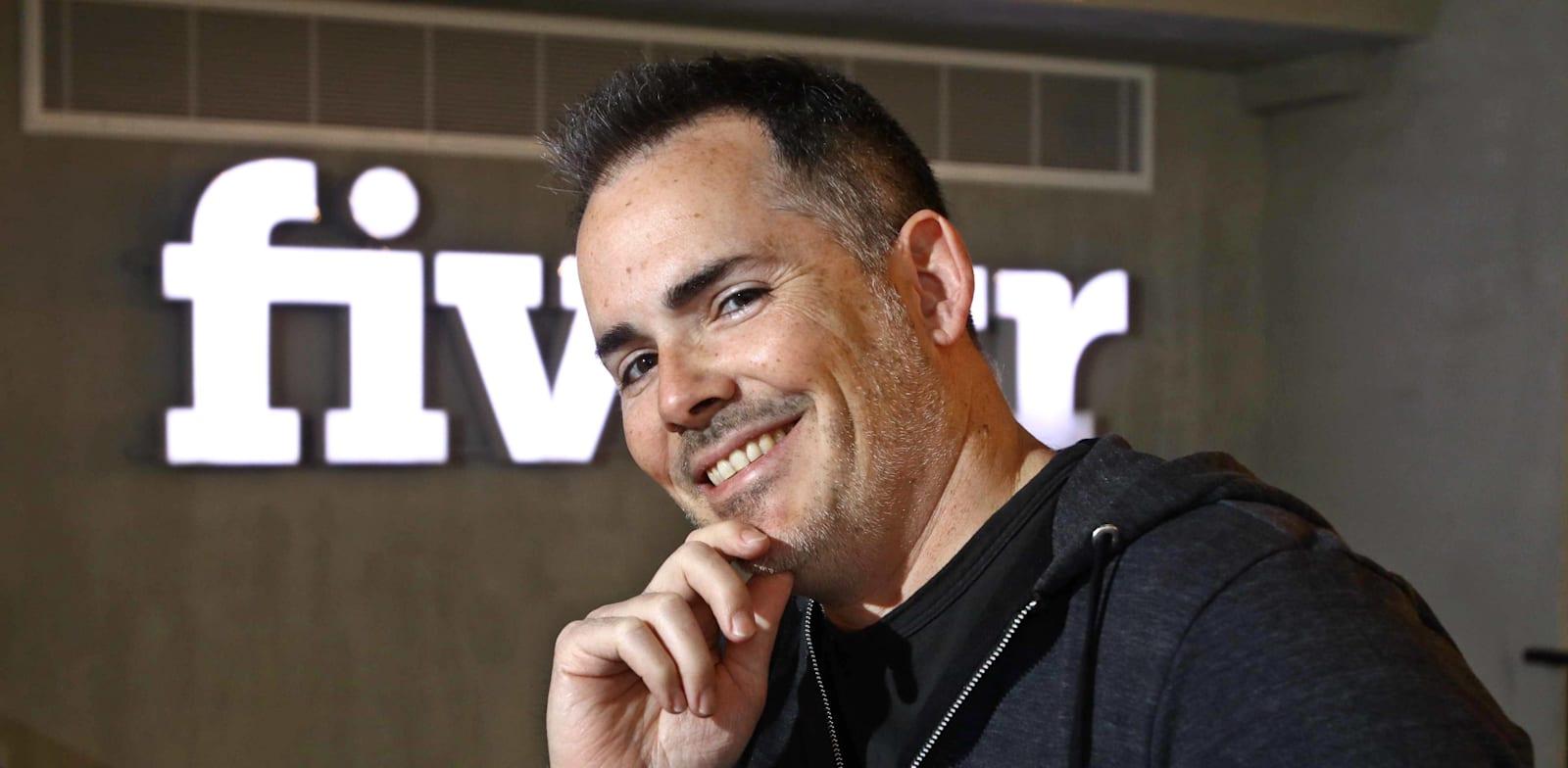 """מיכה קאופמן, מנכ""""ל פייבר (Fiverr) / צילום: אמיר מאירי"""