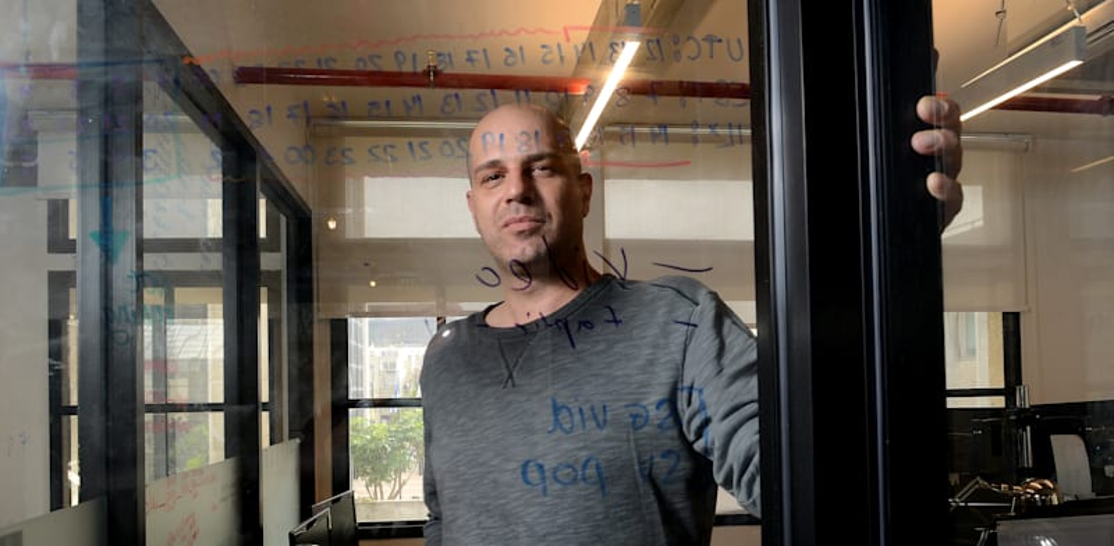 עמית אוחיון. הקים מערכת פרסום ממוחשבת / צילום: איל יצהר