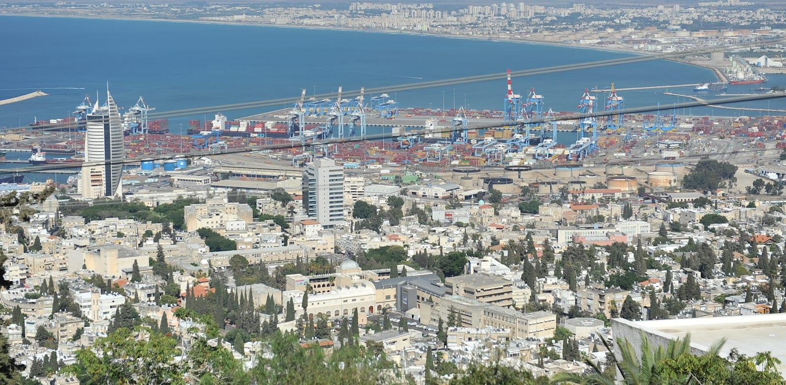 מפרץ חיפה , ים / צילום: תמר מצפי