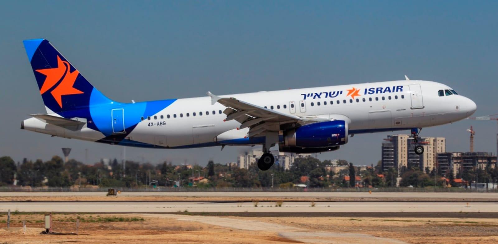 """מטוס ישראייר / צילום: יח""""צ, מוני שפיר"""