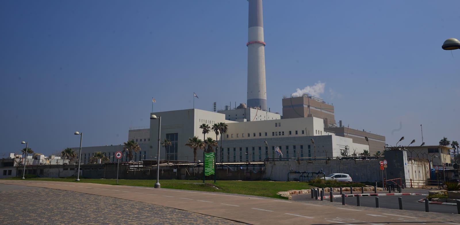 תחנת הכוח רידינג בתל אביב / צילום: תמר מצפי