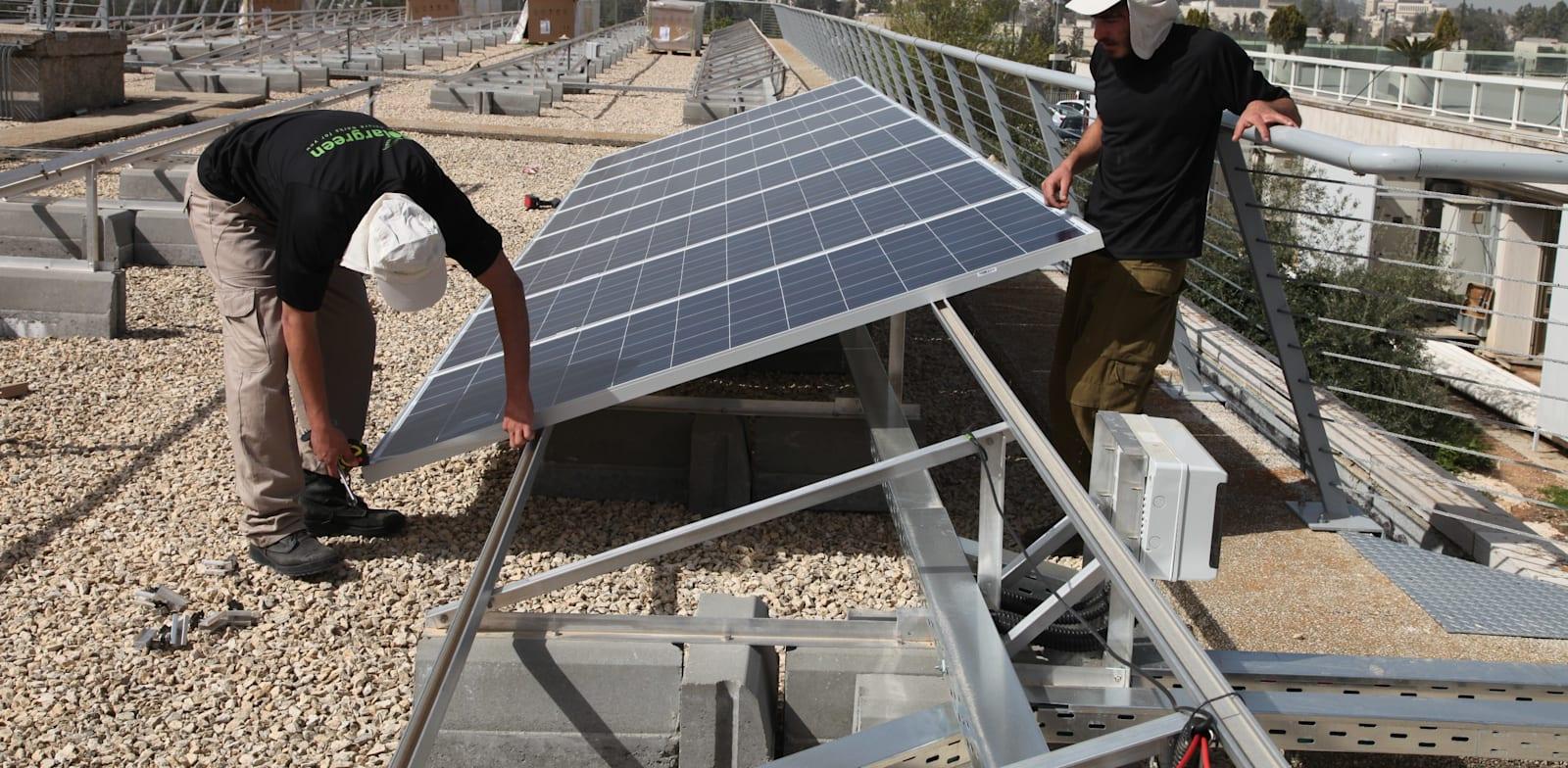 השקת שדה סולרי - אנרגיה ירוקה / צילום: דוברות הכנסת