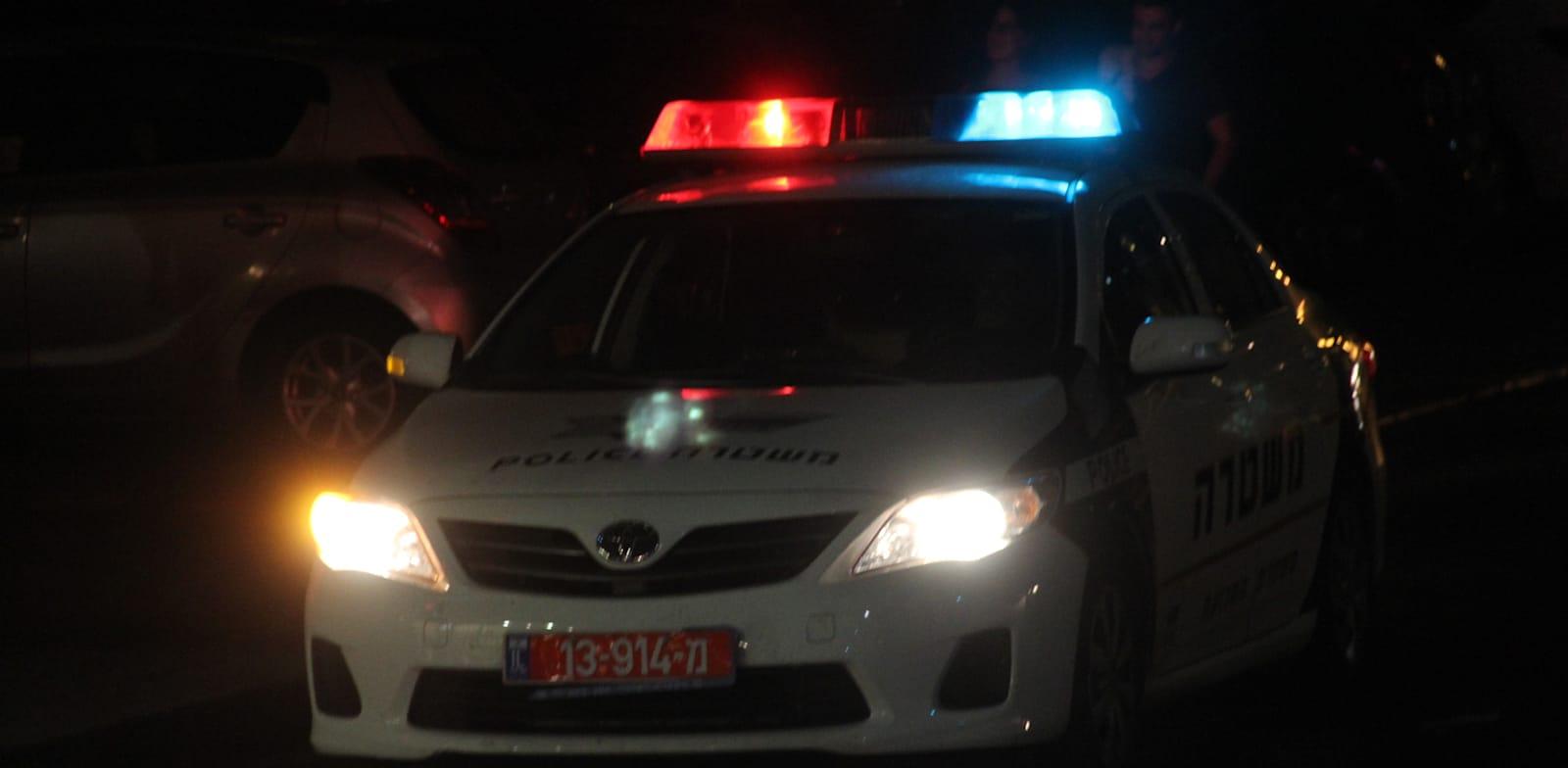 ניידת משטרה / צילום: יוסי כהן