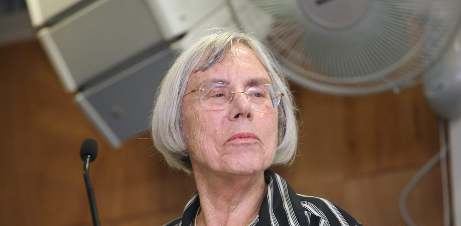 נשיאת מועצת העיתונות, השופטת בדימוס דליה דורנר / צילום: עינת לברון