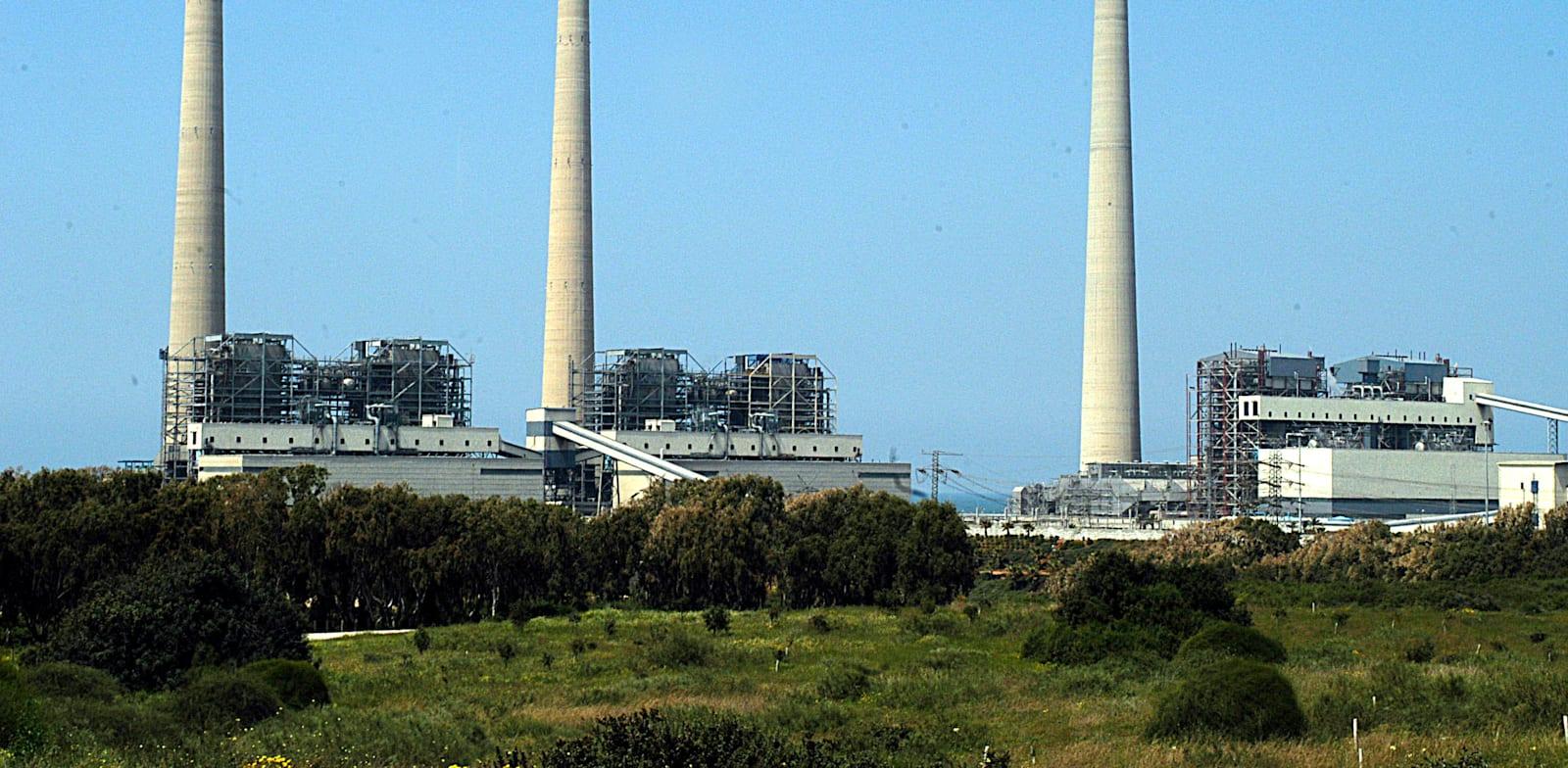 תחנות כוח בחדרה / צילום: אייל פישר