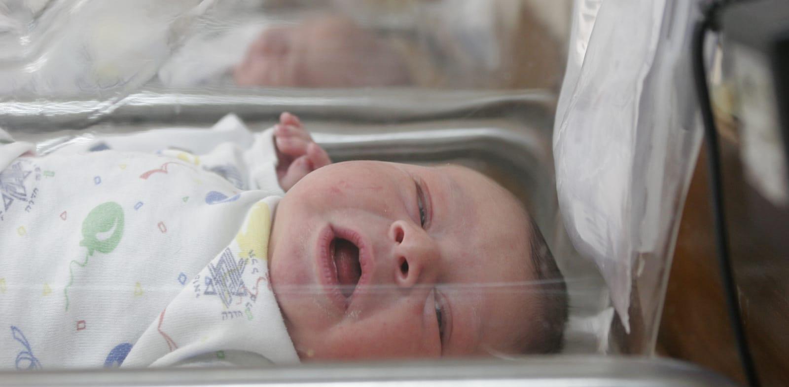 בית חולים - תינוק - פג / צילום: עינת לברון