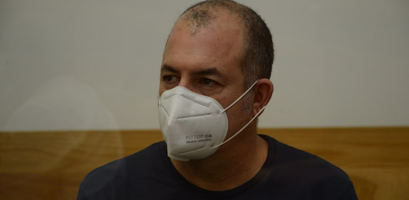 אמיר ברמלי בבית המשפט / צילום: איל יצהר