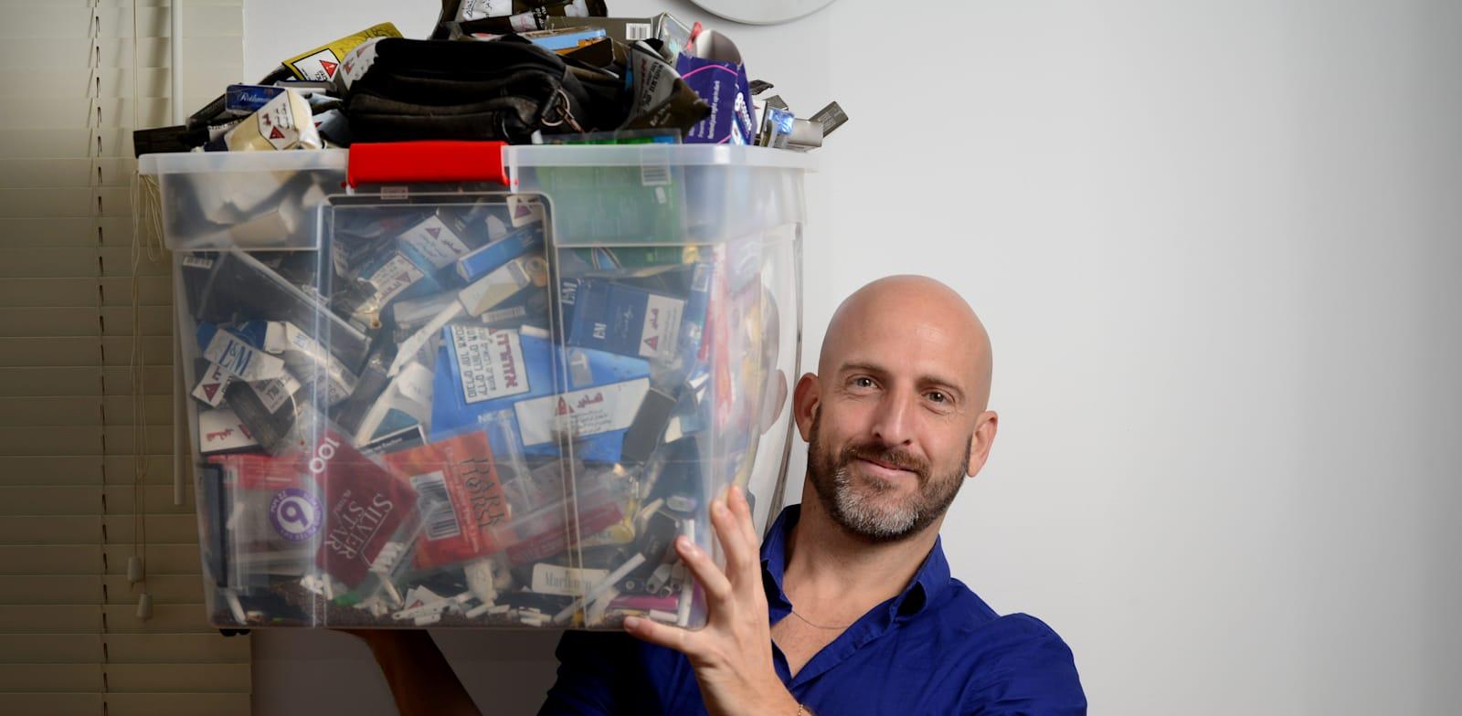 """אסף אשכנזי, מנכ""""ל אלן קאר ישראל, חברה שמציעה גמילה מעישון / צילום: איל יצהר"""