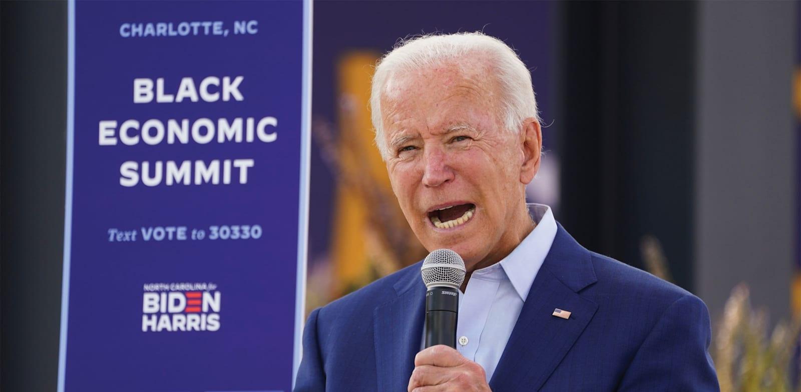 """נשיא ארה""""ב הנבחר ג'ו ביידן / צילום: Reuters, Kevin Lamarque"""