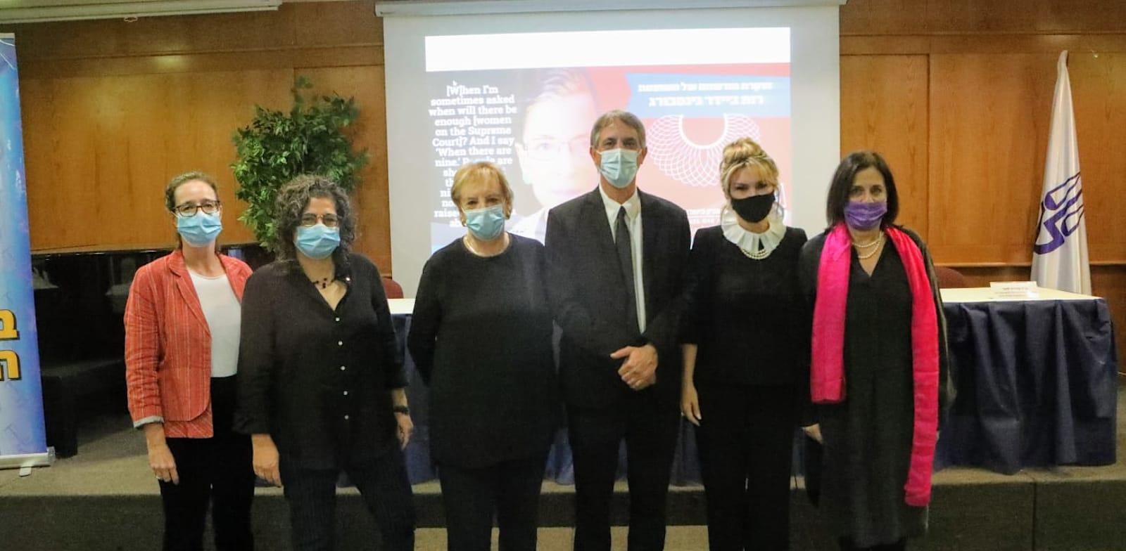 """ערב לזכרה של רות ביידר-גינסבורג שארגנה לשכת עוה""""ד / צילום: דוברות לשכת עורכי הדין"""