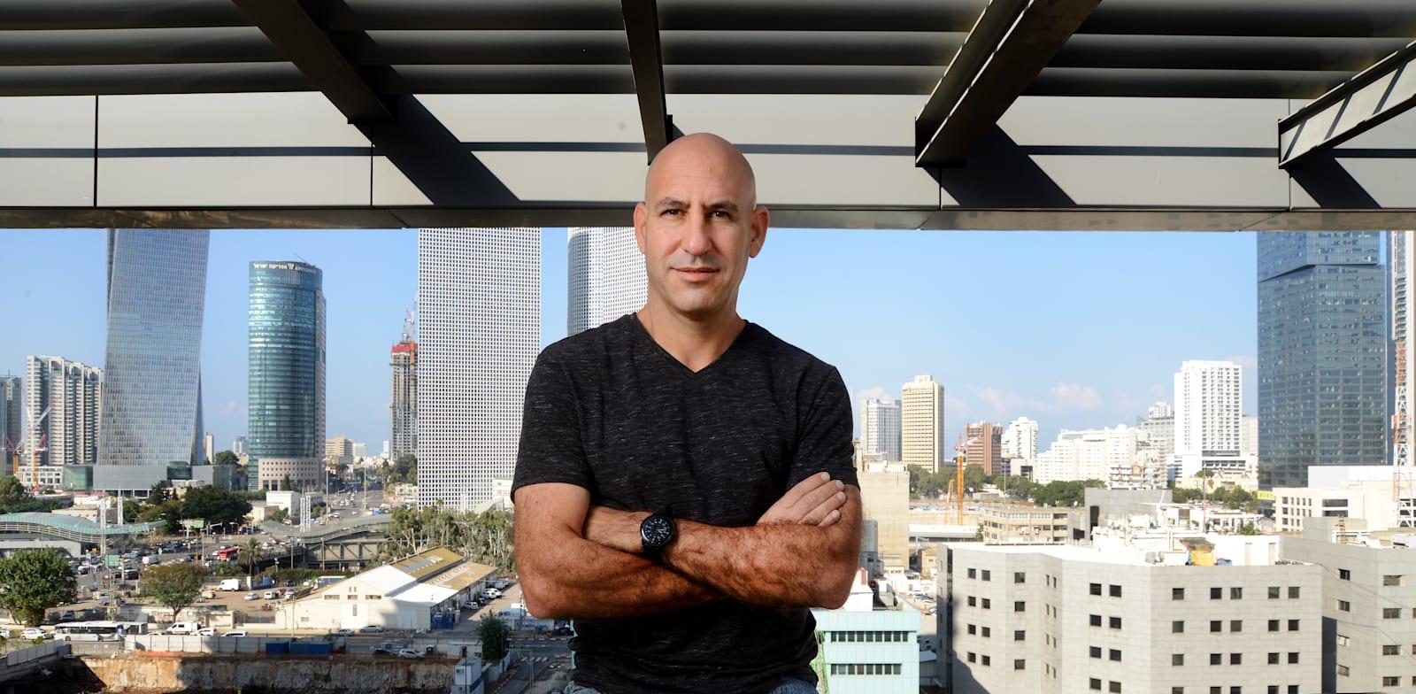 """אלון קאופמן, מנכ""""ל הסטארט-אפ דואליטי / צילום: איל יצהר"""