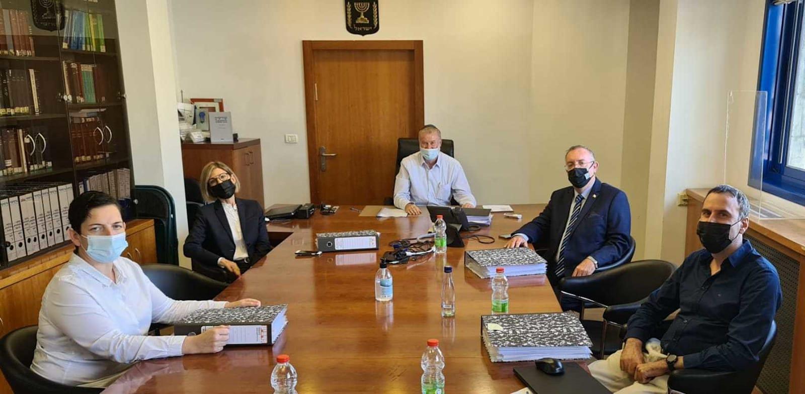 ועדת האיתור למשרת פרקליט המדינה / צילום: דוברות משרד המשפטים