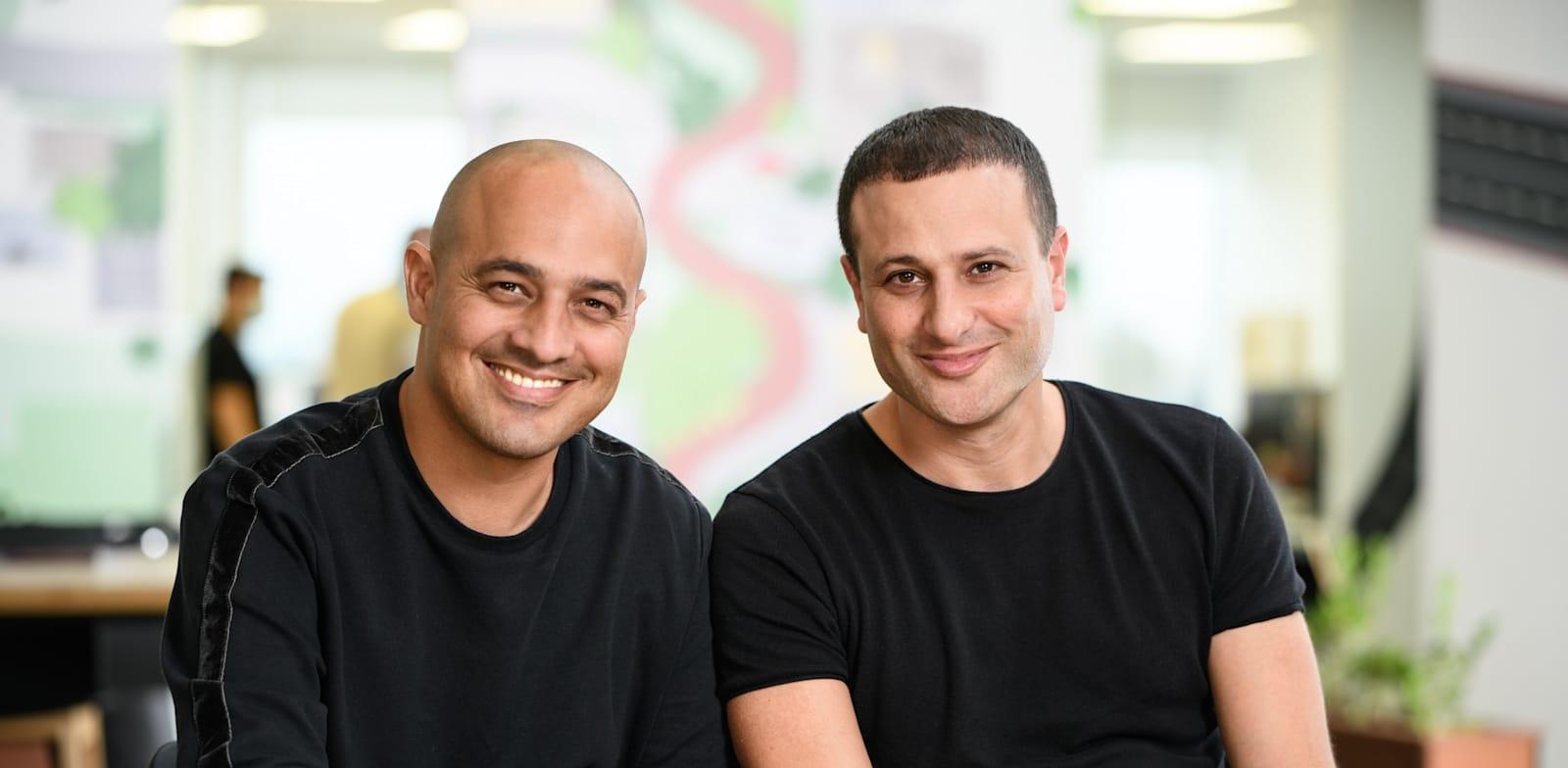 Asaf Ganot and Yoni Avital, founders, ControlUp Credit: David Garb
