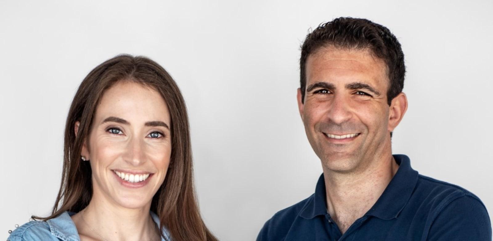 נציגי הקרן בישראל ניקול פריאל וגל גיטר / צילום: Elisa Szklanny