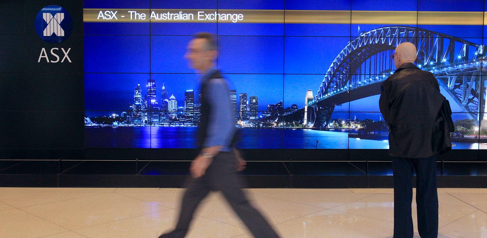 הבורסה באוסטרליה / צילום: Associated Press, Rick Rycroft