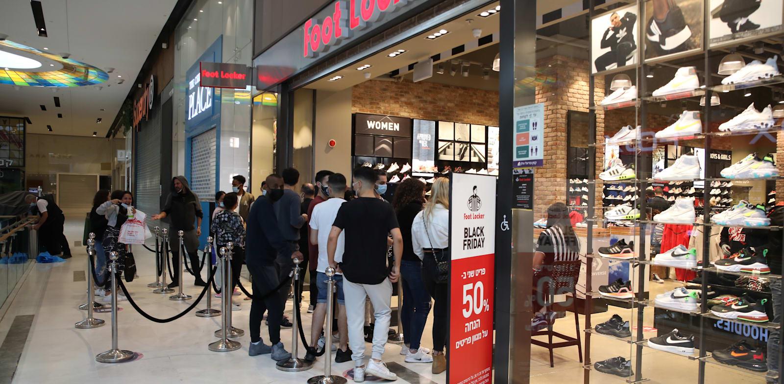 קניון איילון - פתיחת החנויות לאחר סגר / צילום: כדיה לוי